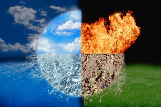 four elements meaning