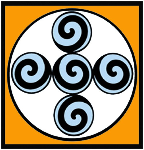 Aztec symbol for creation and life