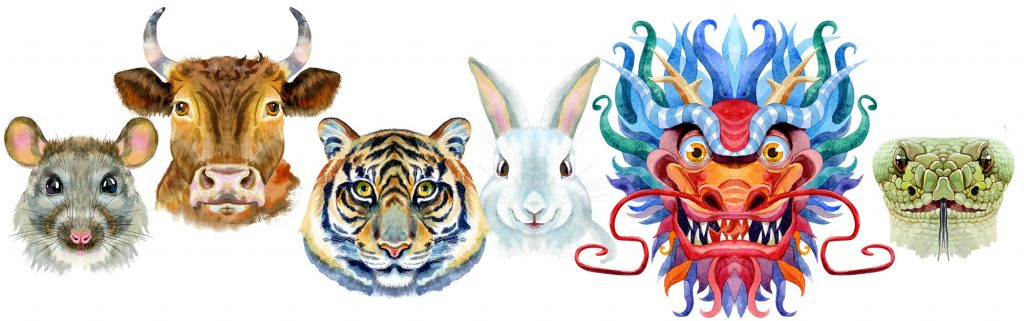 Chinese animal zodiac signs and Chinese New Year