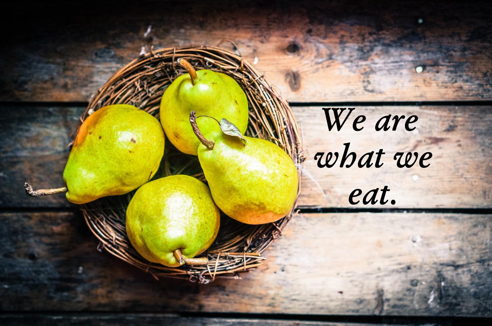 Food meanings