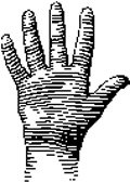 hand good luck symbol meanings