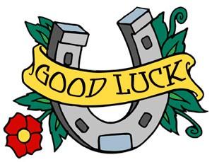 horseshoe good luck symbol and tattoo ideas