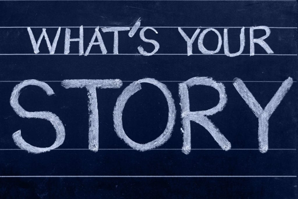 law of attraction meaning telling your story