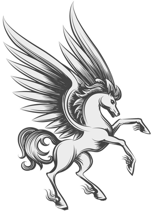 pegasus and meaning of wings