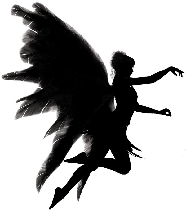 meaning of wings on human figures
