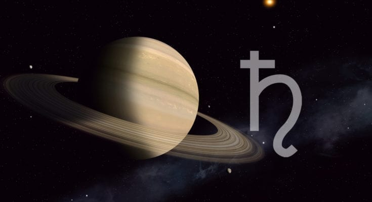 Saturn symbol meaning