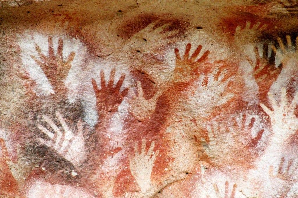 Hand Meaning Cueva De Las Manos