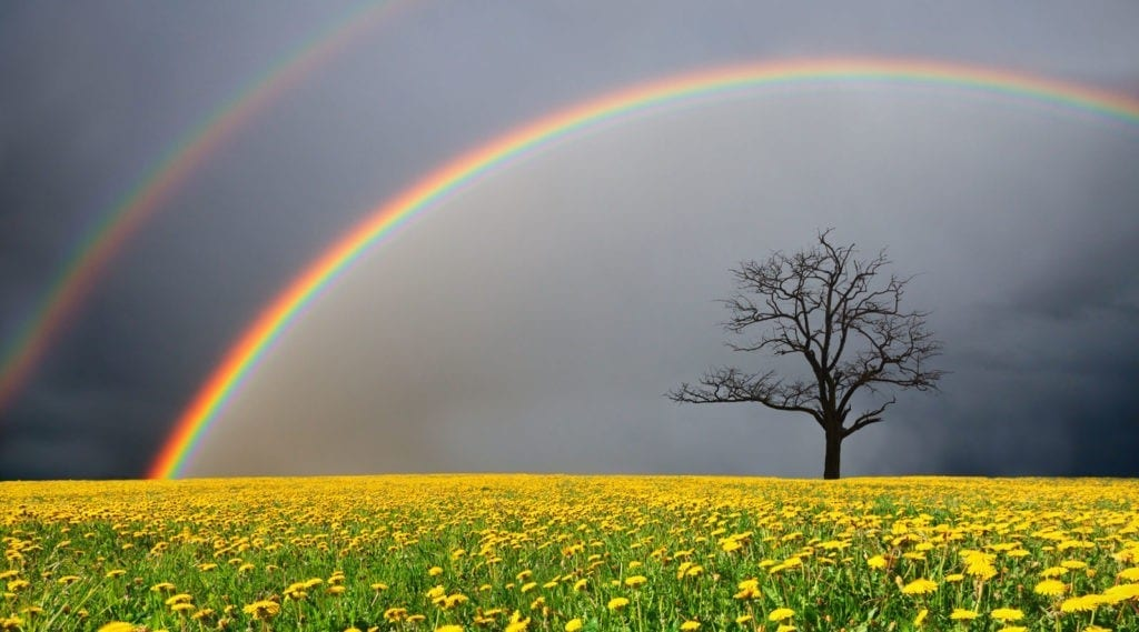 symbolic meaning of rainbows