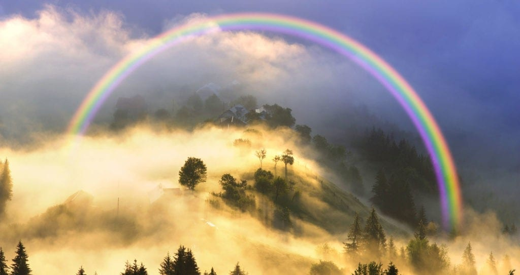 symbolic rainbow meaning