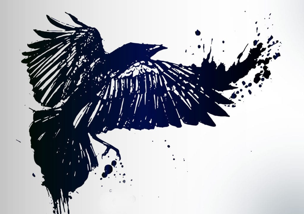 raven meaning and celtic tattoo ideas