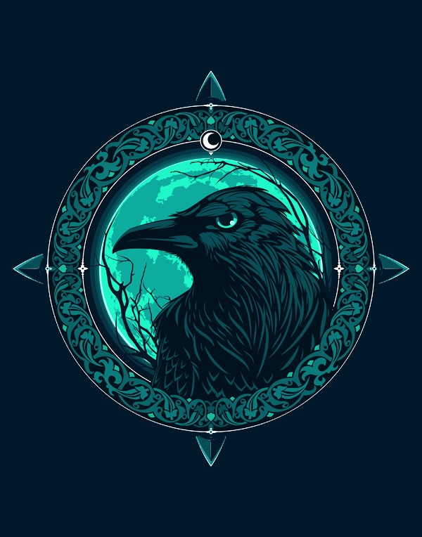 Celtic raven tattoo ideas and raven meaning