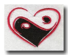 yin yang heart symbol meaning