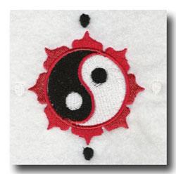 chinese lotus yin yang symbol meaning