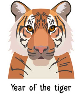 Chinese Year Of The Tiger