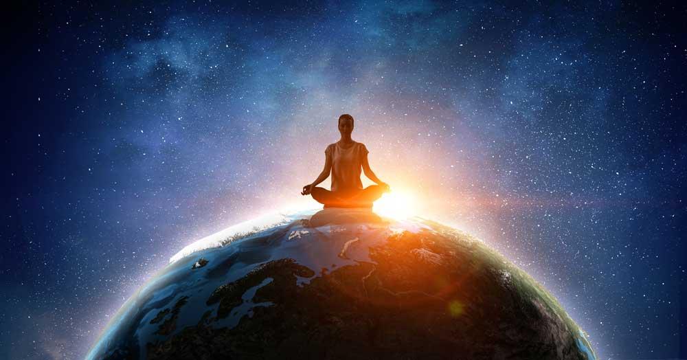 Earth symbol earth meditation