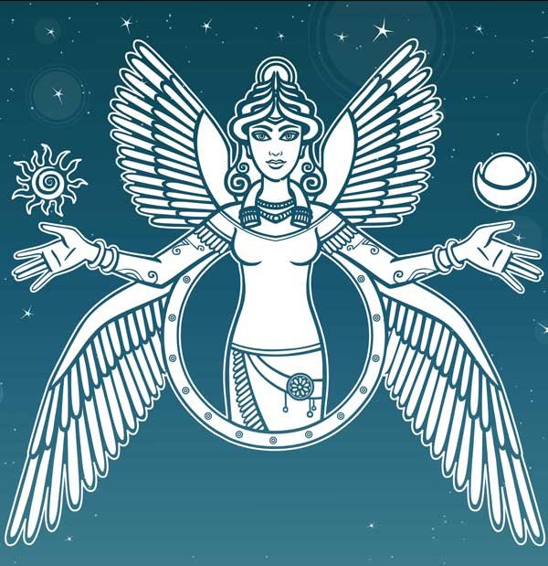 goddess symbols for inanna meaning