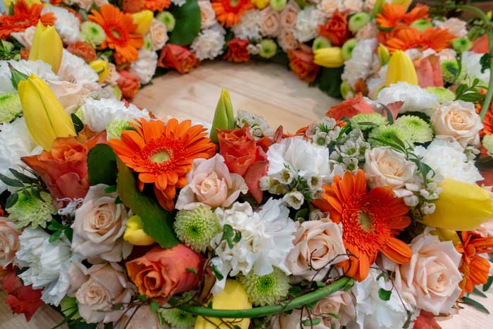 Summer and Spring wreath meaning