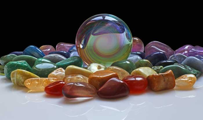 good symbols for health stones
