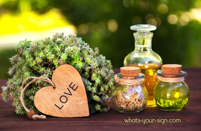 Aromatherapy oil meanings