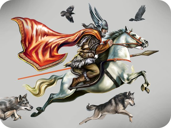 Norse God Odin Meaning