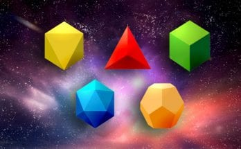 meaning of Platonic solids and symbols