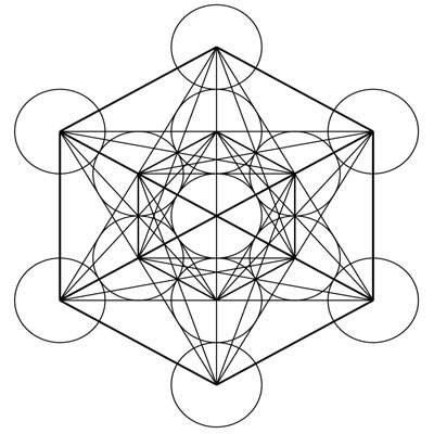 sacred geometry meaning fruit of life metatron symbol