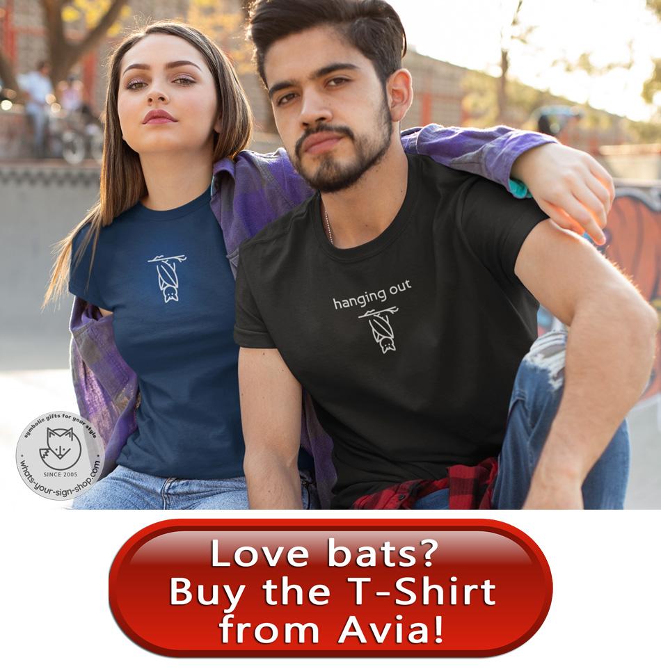 bat totem t-shirt by avia