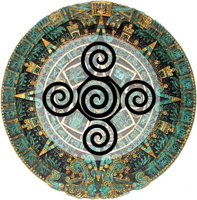 Aztec symbol for creation