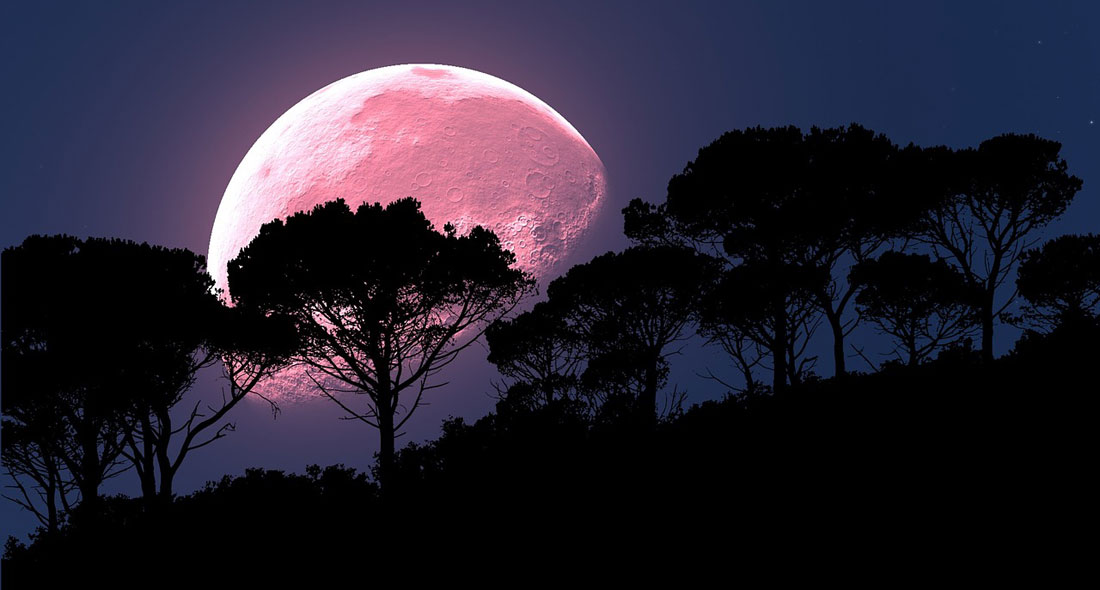 Full Pink Moon Meaning in April