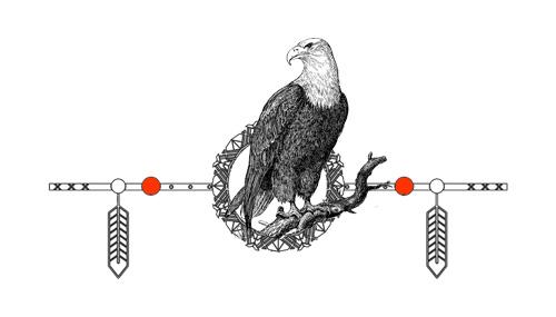 Native American Animal Birth Totem Eagle