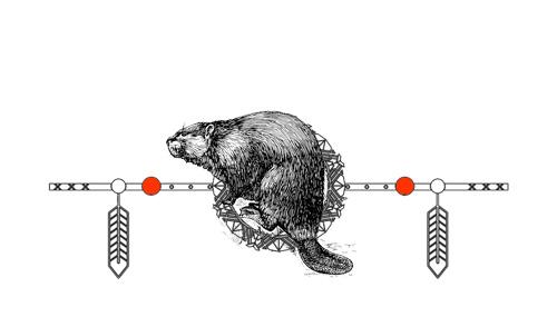 Native American Animal Birth Totem Beaver