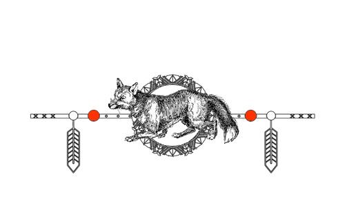 Native American Animal Birth Totem Fox