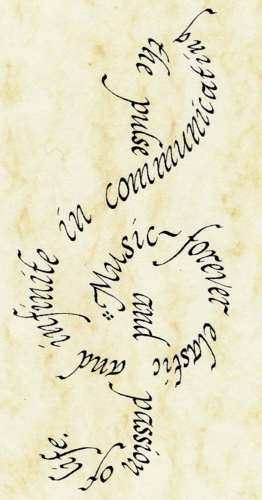 Symbolic Calligraphy by Avia