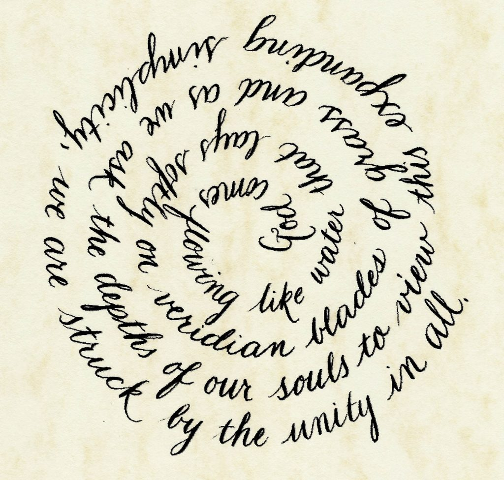 Celtic Calligraphy by Avia