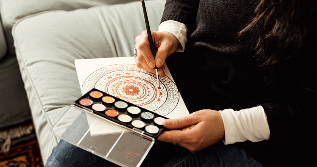 Using and Creating Mandalas for Focus